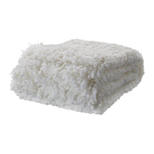 OFELIA Plaid, bianco bianco 130x170 cm