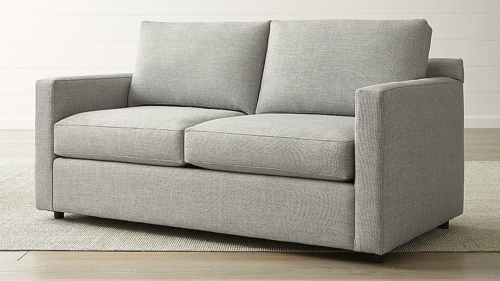 Barrett Full Sleeper Reviews Crate And Barrel Couch And Loveseat Basement Decor Versatile Sofa