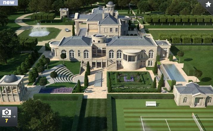 Location Surrey, England Square Footage 42,000 Bedrooms