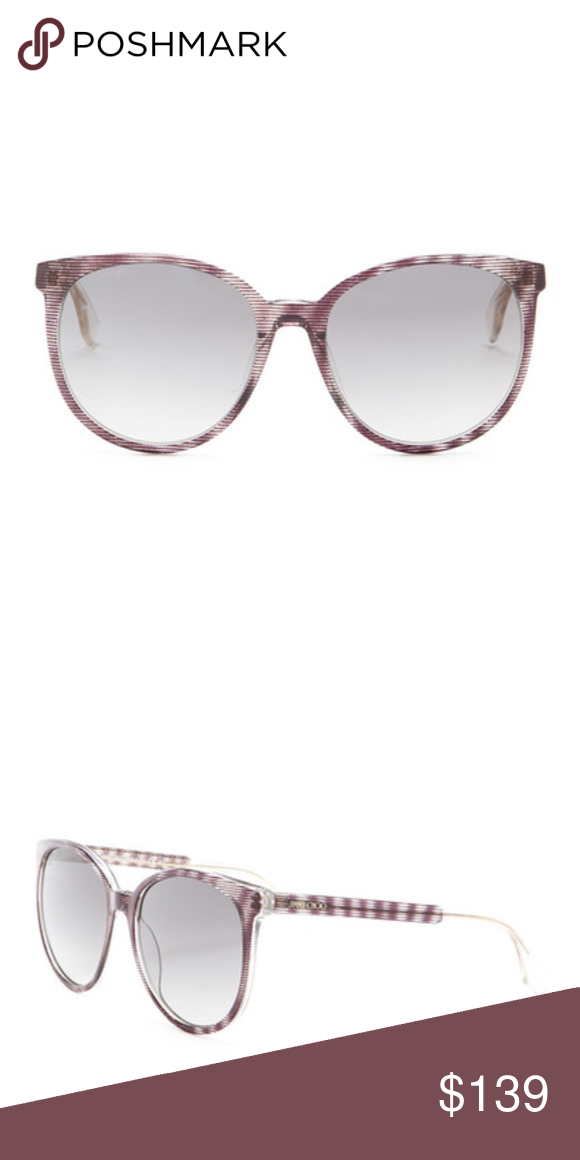 b514e32b742 NWT Jimmy Choo Reece Sunglasses Details - Gender  Unisex - Style  Rounded -  Measurement