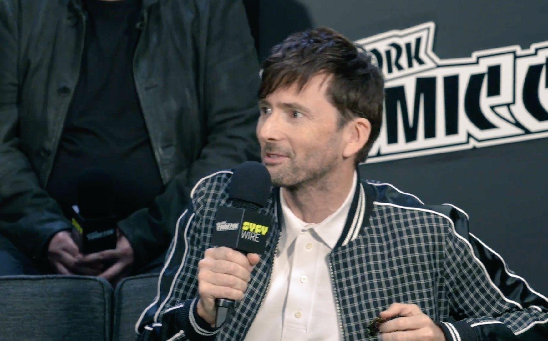 David Tennant interview at the NYCC Good Omens panel