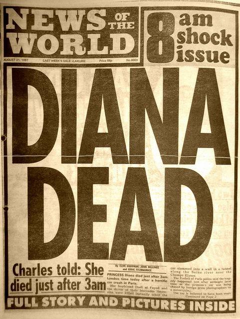 DIANA DEAD