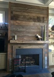 barn board - love it.