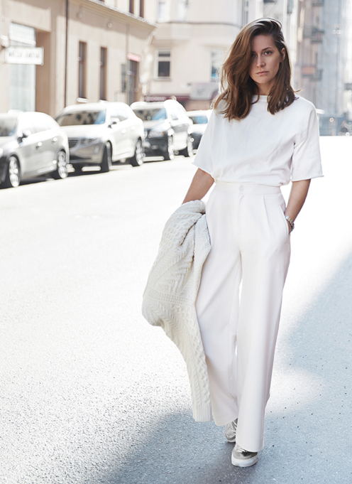 STYLE INSPIRATION // White streetstyle. #WITCHERYSTYLE