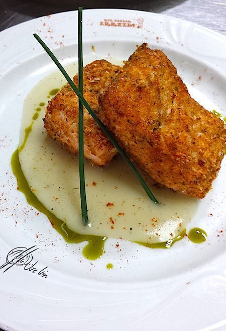 salmón a la provenzal