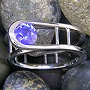 pretty awesome- i think thats a sapphire.