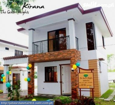 For Sale House And Lot In Cavite House Model Kirana Two Story