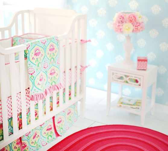 Floral Nursery Bedding Inspiration Floral Crib Bedding  Floral Nursery  Baby Bell  Pinterest  Sweet Review