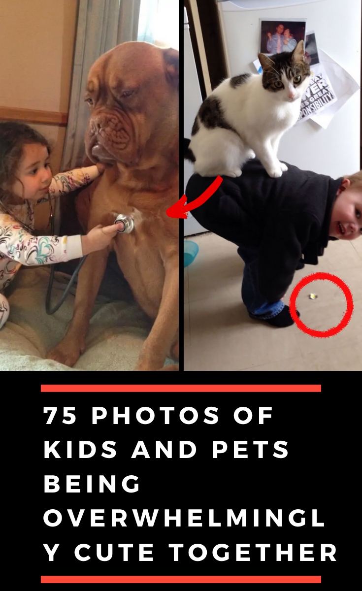 75 Photos Of Kids And Pets Being Overwhelmingly Cute Together