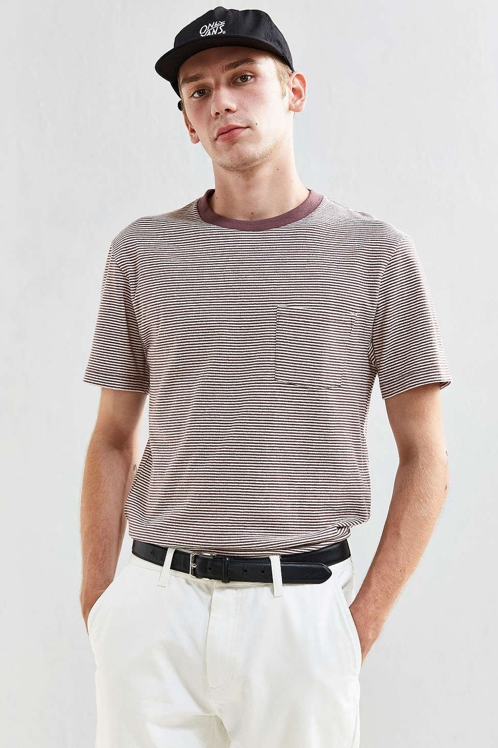 Feeder Stripe Tee Sale Professional Sale Find Great Get To Buy For Sale Discount Store Cheap Amazing Price kdR7P