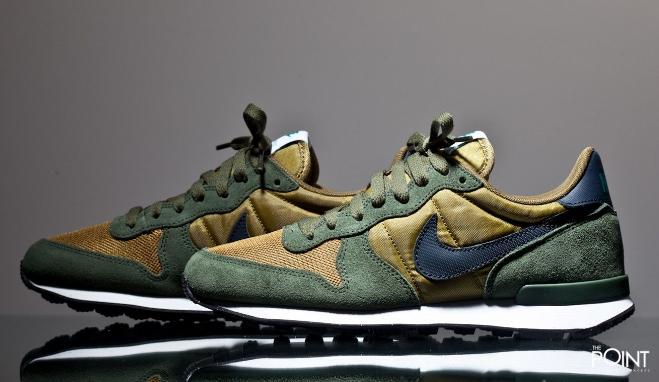 Sneakers Nike Internationalist Green Brown - New Shoes Styles & Design