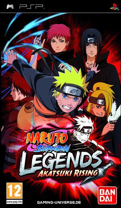 jeux psp naruto shippuden legends akatsuki rising
