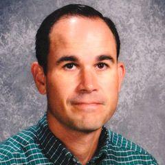 2010 Gold Star Teacher Chad Wolfe teaches middle school art