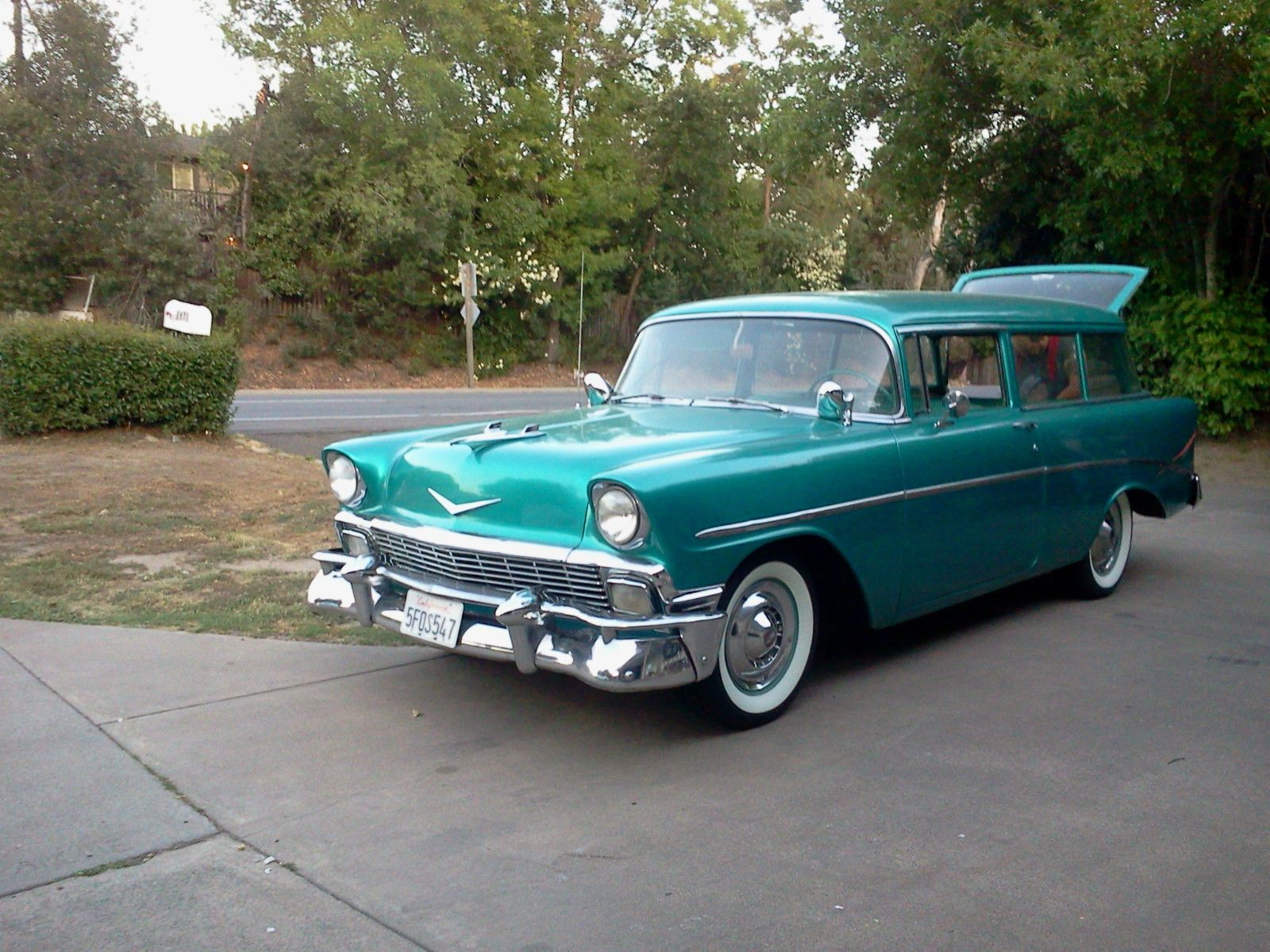 1956 Chevrolet (With images) Chevrolet bel air, Bel air