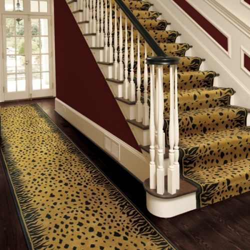 Best Animal Print Carpet For Stairs Home Carpet Stairs 400 x 300