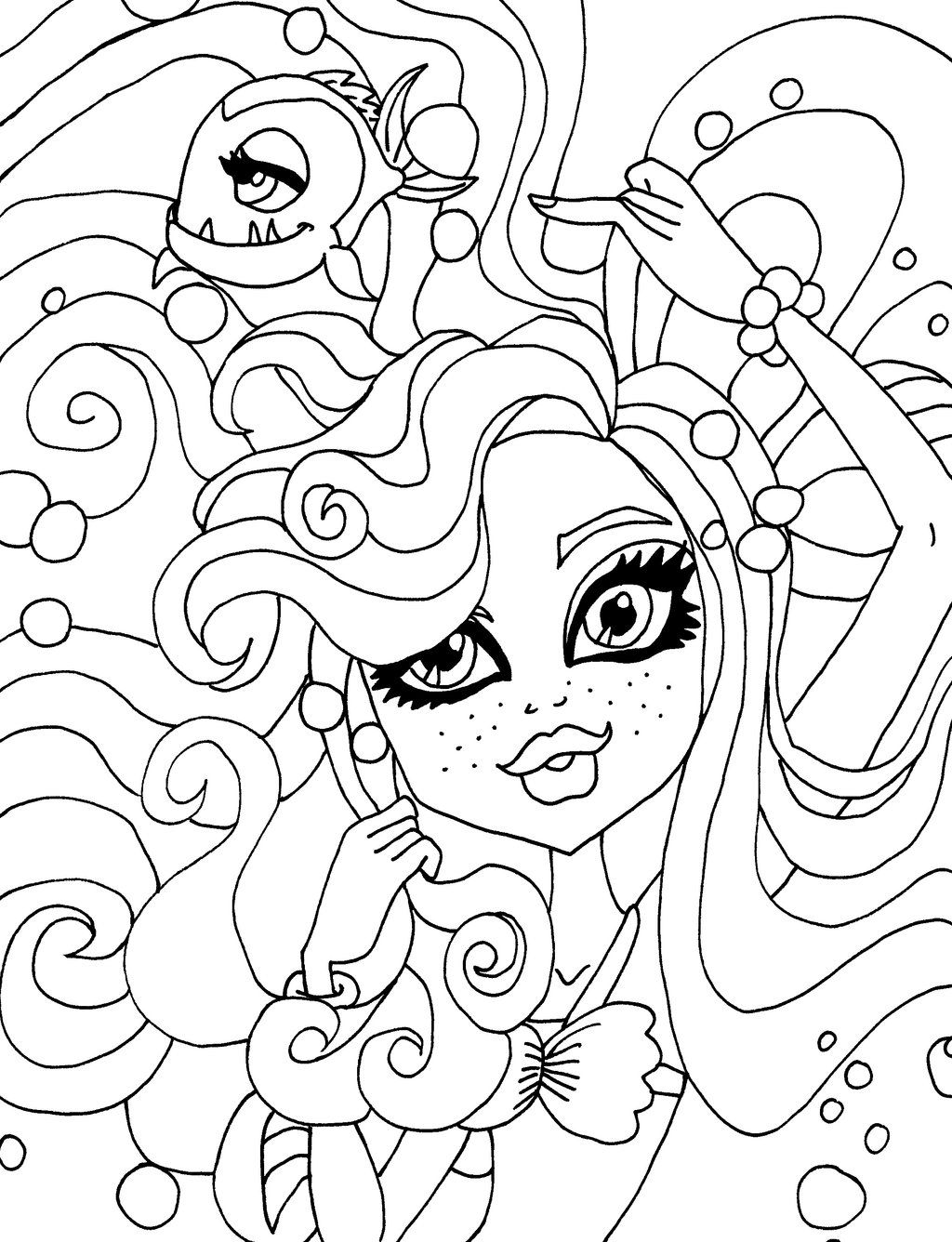 lagoona blue wishes coloring sheet | Coloring pages | Pinterest