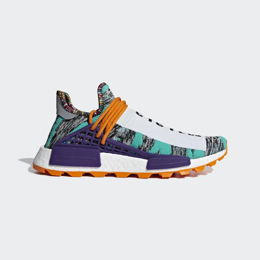 sale uk shop best sellers best authentic Pharrell Williams SOLARHU NMD Shoes Turquoise BB9528 | Dad ...