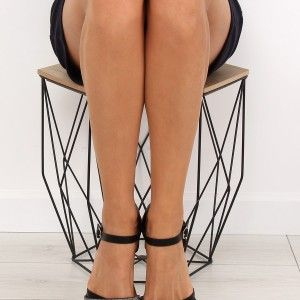 74058a2230 Letné sandále nízke čiernej farby (5)