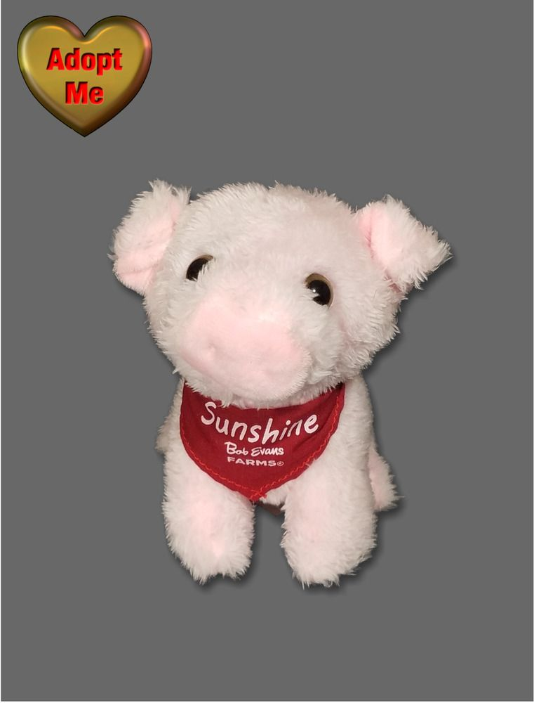 "Valentines You Are My Sunshine Animal Adventure 8/"" Stuffed Plush Pink Bear"