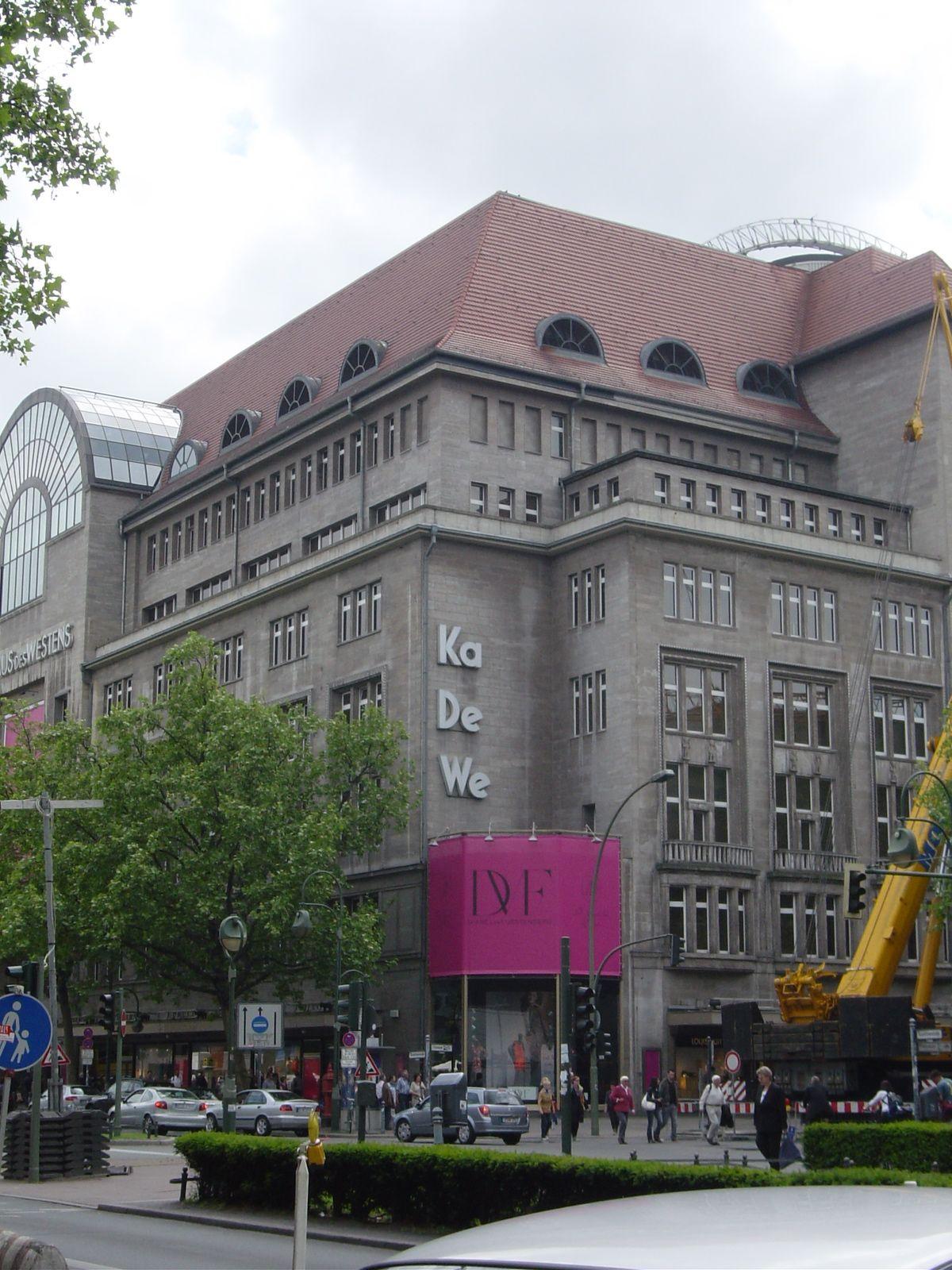 Kadewe Berlin Berlin Hauptstadt Stadt