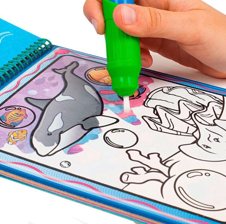 Water Wow Books From Melissa Doug Are Perfect For A Long Car Ride No Mess But Tons Of Fun Discover Hidden Imag Entertaining Travel Activities Activities
