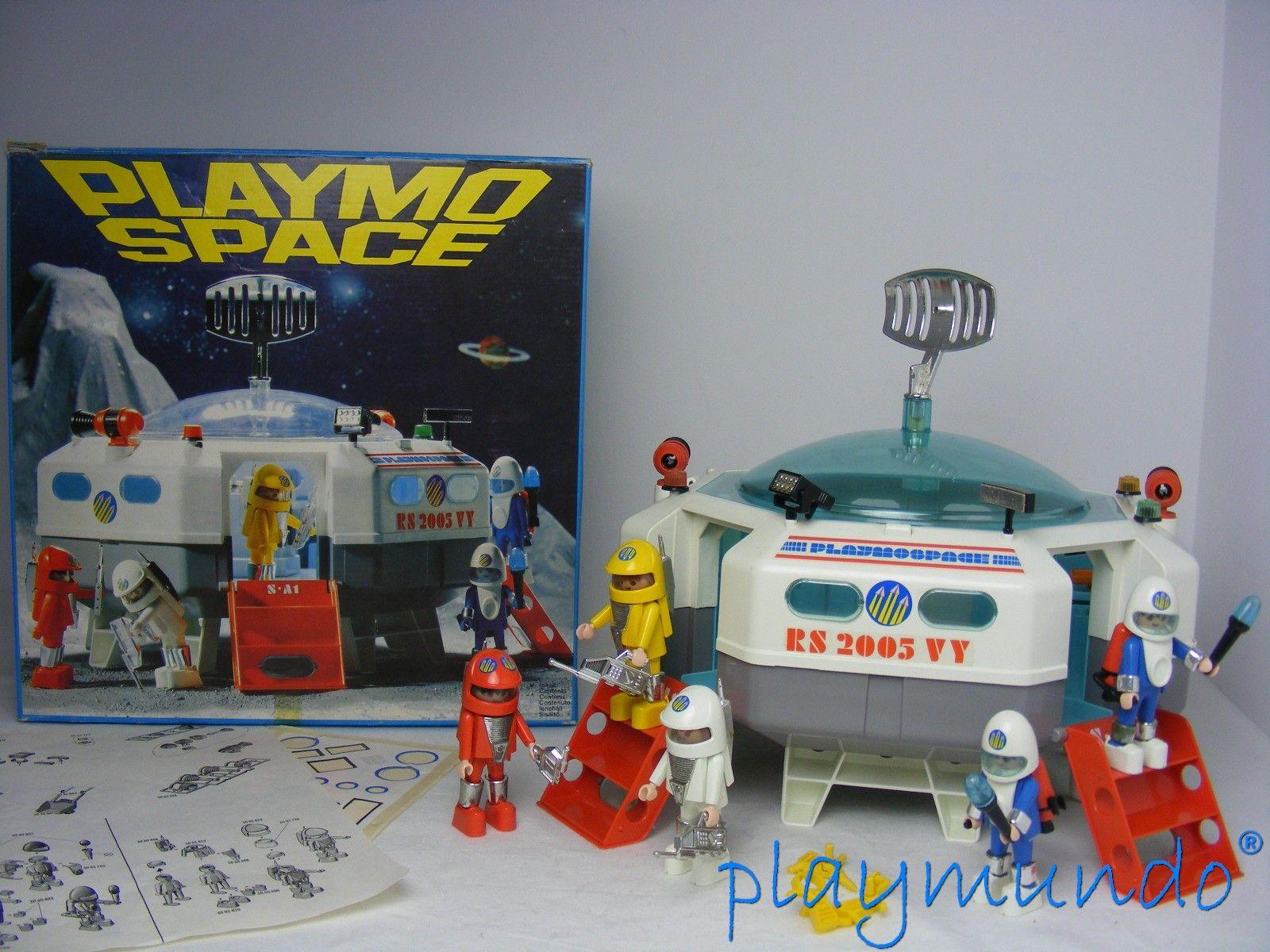 Playmobil 3536 nave espacial version 1 a o 1980 http for Nave espacial playmobil