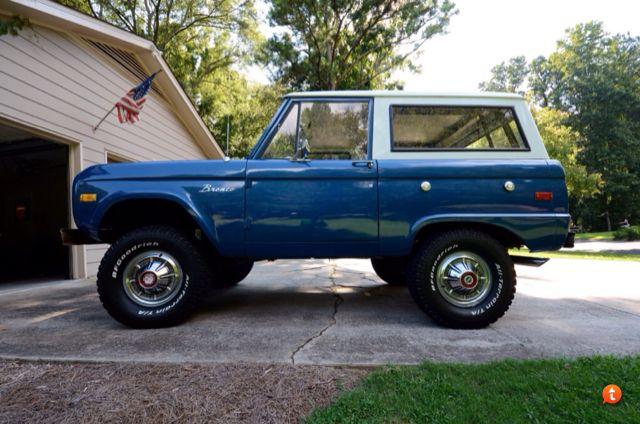 2 5 Inch Lift 31x10 5 Bfg Bronco Classic Bronco Early Bronco