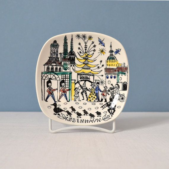 vintage stavangerflint wall plate inger waage wall hanging pinterest vaisselle et deco. Black Bedroom Furniture Sets. Home Design Ideas