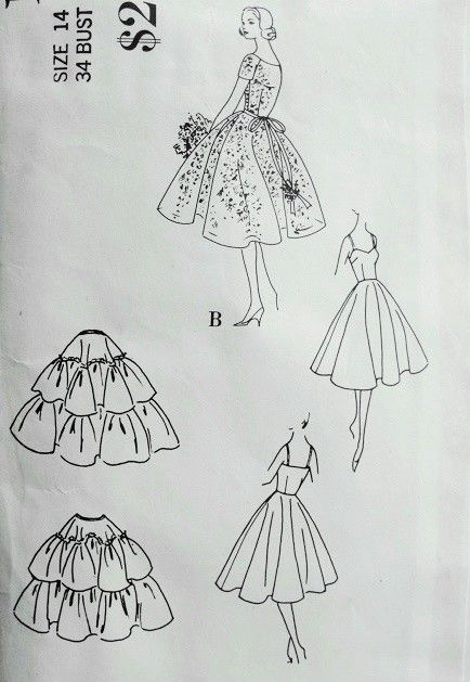 Hoop under the dress