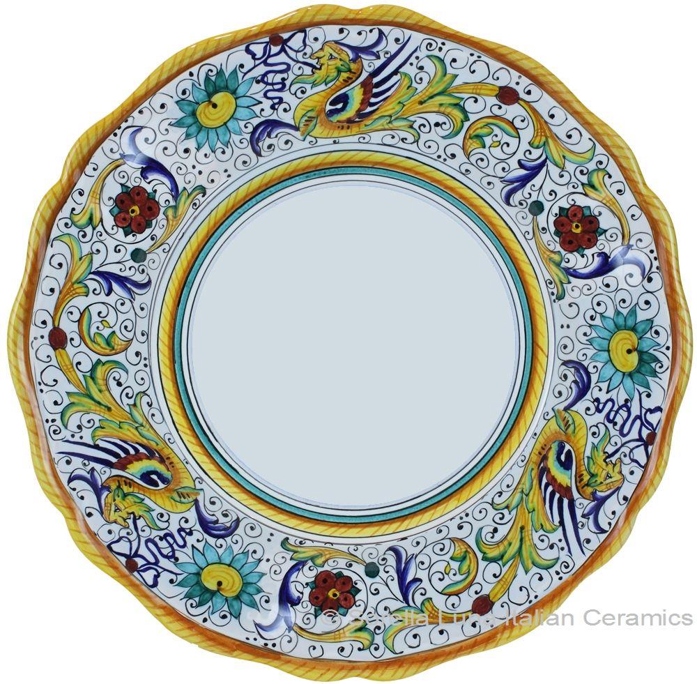 dinner plates | Deruta Italian Dinner Plate  sc 1 st  Pinterest & dinner plates | Deruta Italian Dinner Plate | DINNER PLATES ON ...