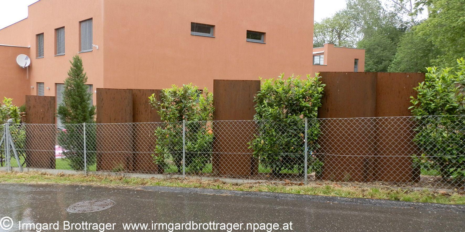 Bildergebnis Fur Rostige Stahlplatte In 2020 Sichtschutzwande