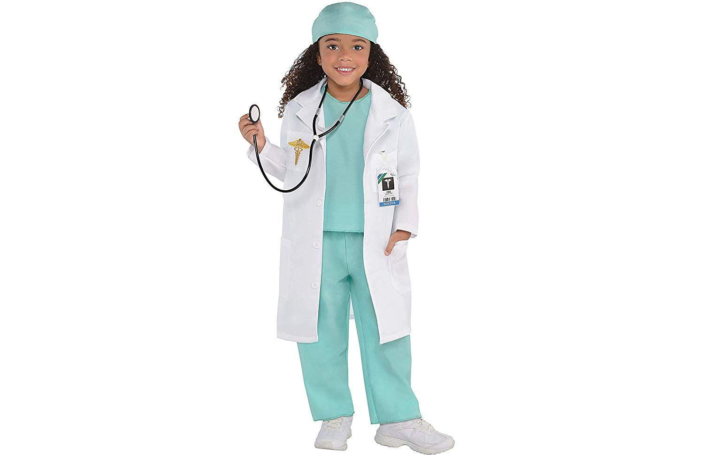 Surgical Masks Doctor Nurse Surgeon Fancy Dress Up Halloween Costume Accessory
