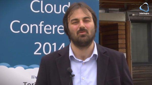 Walter Dal Mut alla Cloud Conf 2014