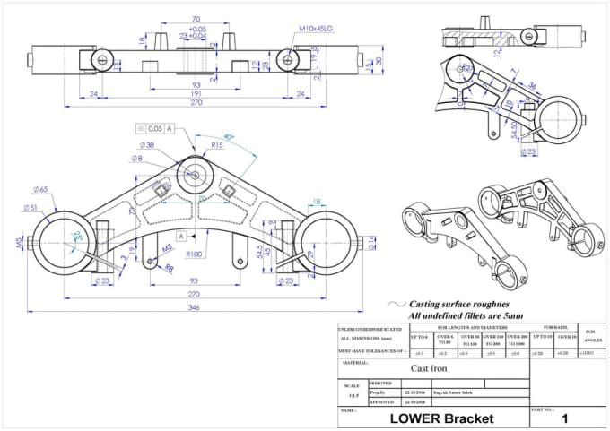 Alinasser801 I Will Create Drawing For Manufacturing For 10 On Fiverr Com Mechanical Engineering Design Motorcycle Design Create Drawing