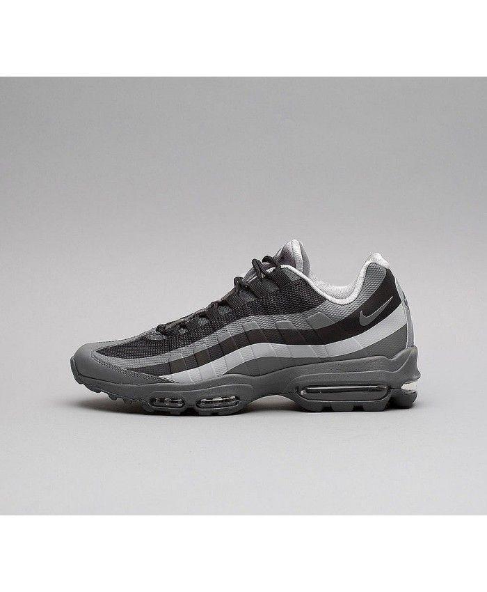 online retailer 96a3c d1c3f Nike Air Max 95 Ultra Essential Chaussures Gris et Noir