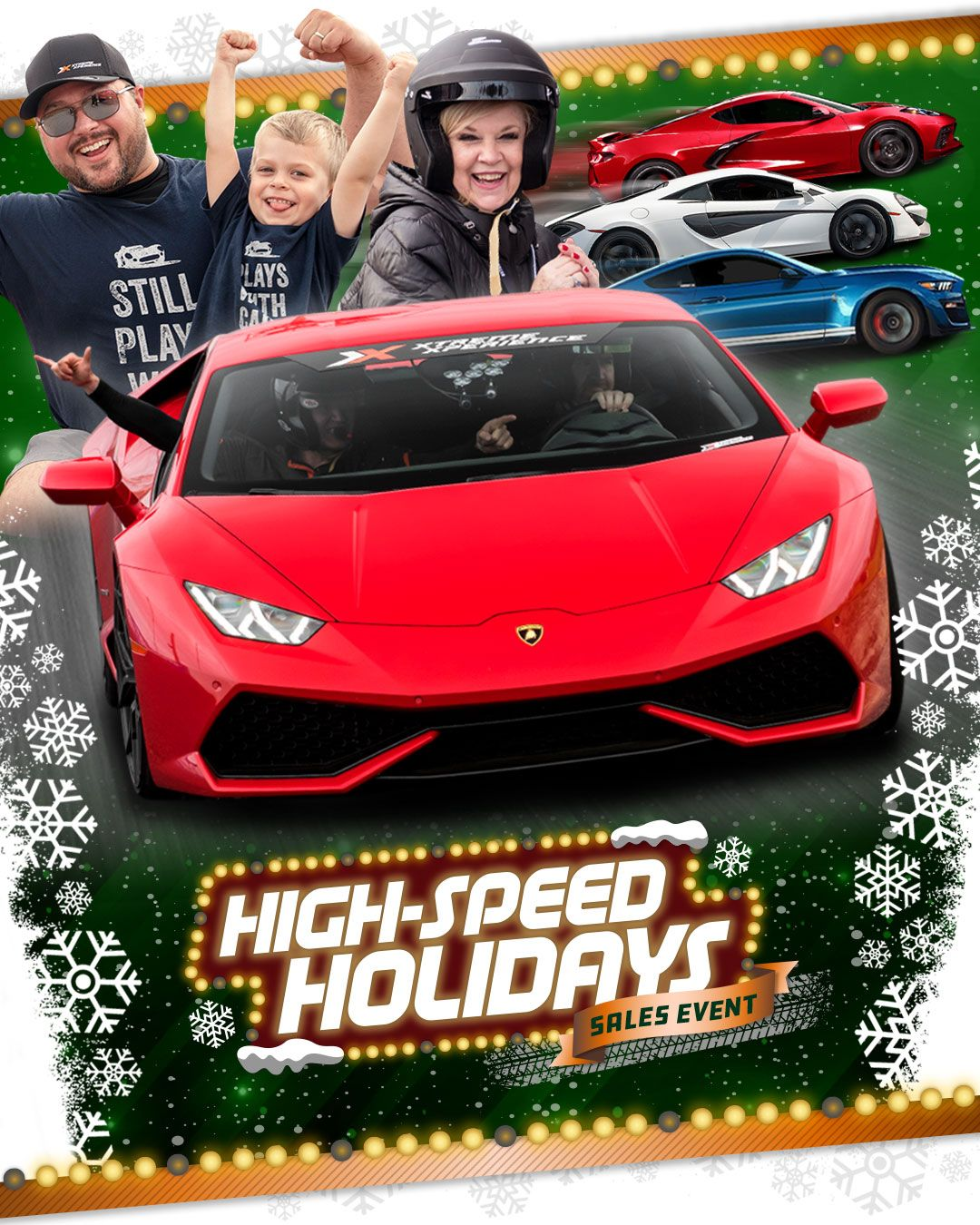 Last Minute Gift Supecar Xperiences Holiday Sales Supercar Driving Experience Xtreme Xperience