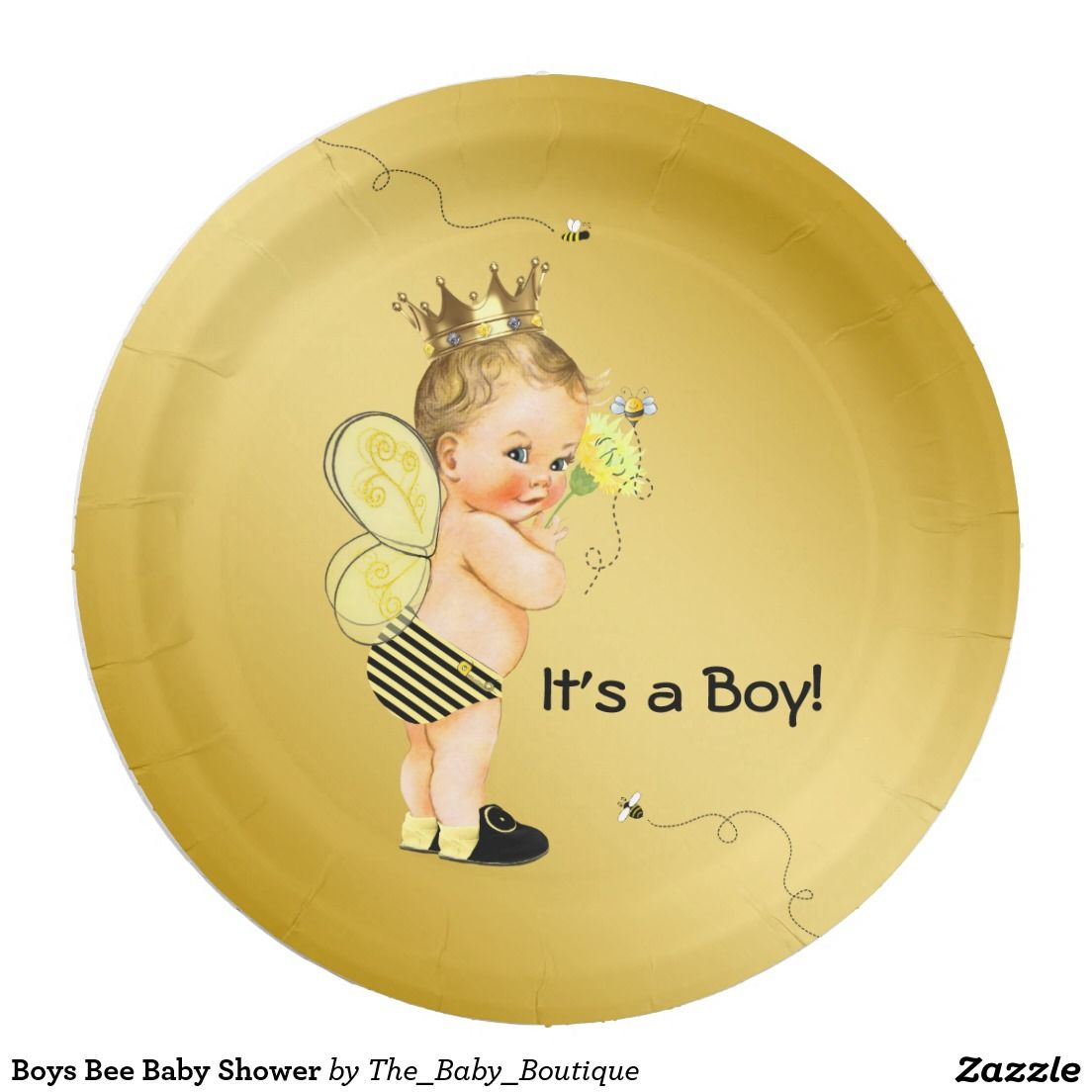 Baby Shower Paper Plates and Napkins