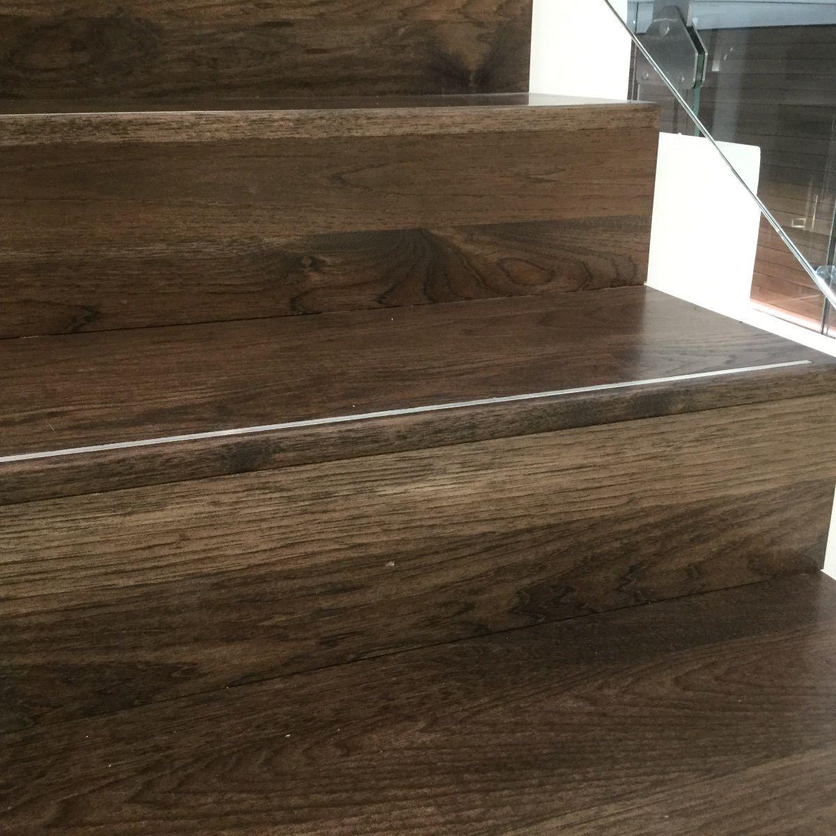 Pecan Treads Stained To Look Like Walnut Hardwood Floors Maple Floors Installing Hardwood Floors