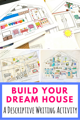 Astounding End Of The Year Writing Activity Your Dream House Ideas Download Free Architecture Designs Rallybritishbridgeorg
