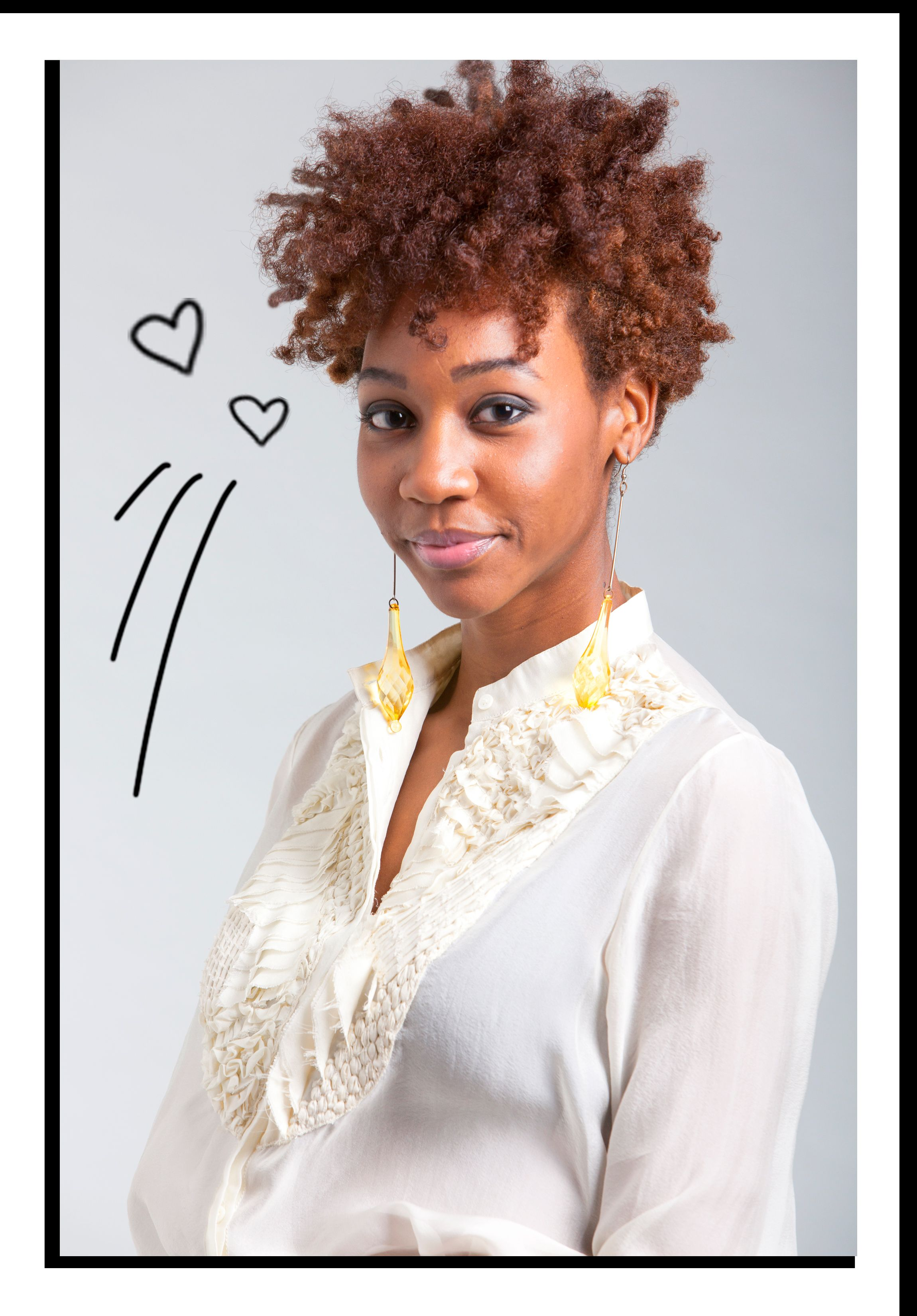 natural hair tapered cut Google Search