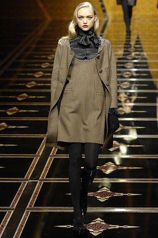 Valentino Fall 2007 Ready-to-Wear Fashion Show - Gemma Ward (IMG)