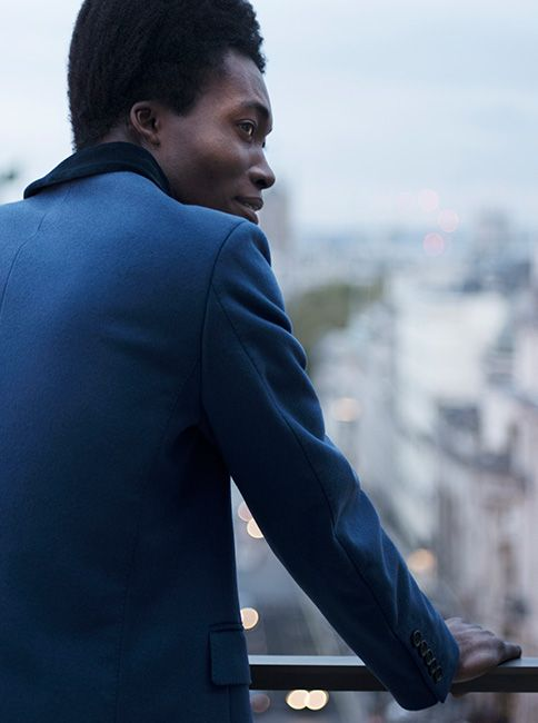 Outside in London: British artist Benjamin Clementine