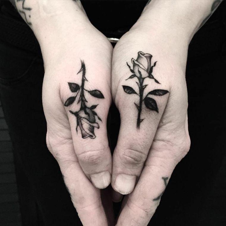 1001 + idee per tatuaggio rosa, colori, significati e ...