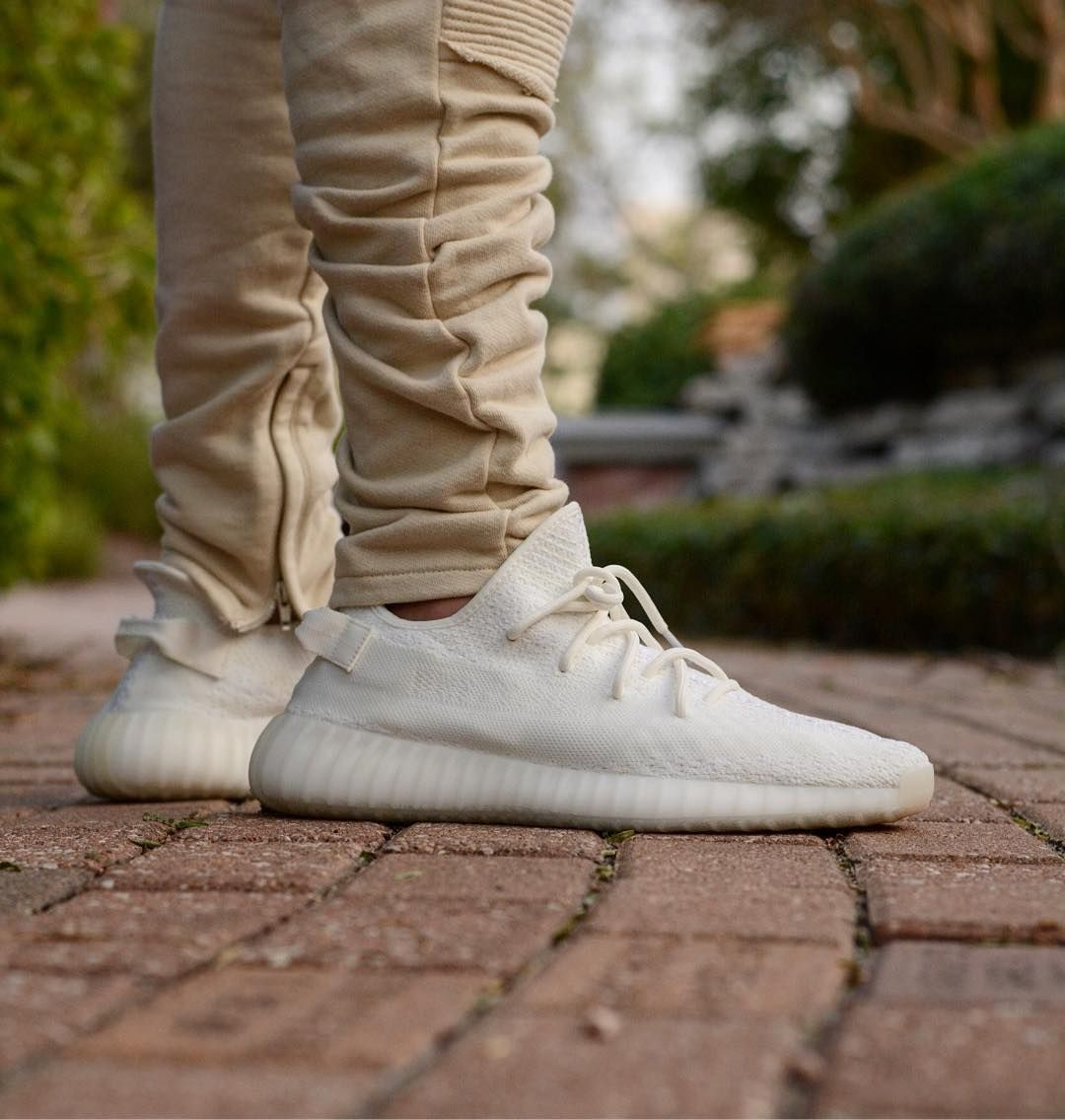 """adidas yeezy boost 350 v2 """"cream""""  yeezy outfit sneakers"""