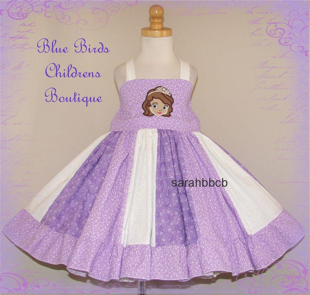 Disney Princess Sofia the First Dress - Girls BBCB Boutique - RTS ...
