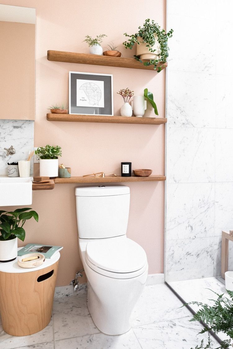 Photo of Where to Get Everything From This Millennial Pink Bathroom Makeover — Hunker