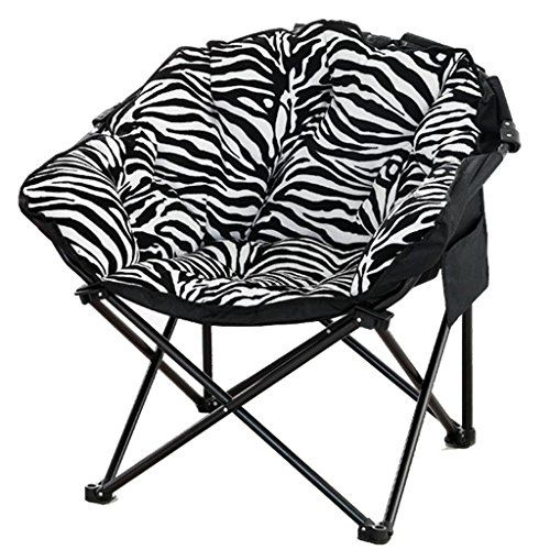 Super Yd Black And White Stripes Moon Chair Creative Lazy Suede Forskolin Free Trial Chair Design Images Forskolin Free Trialorg