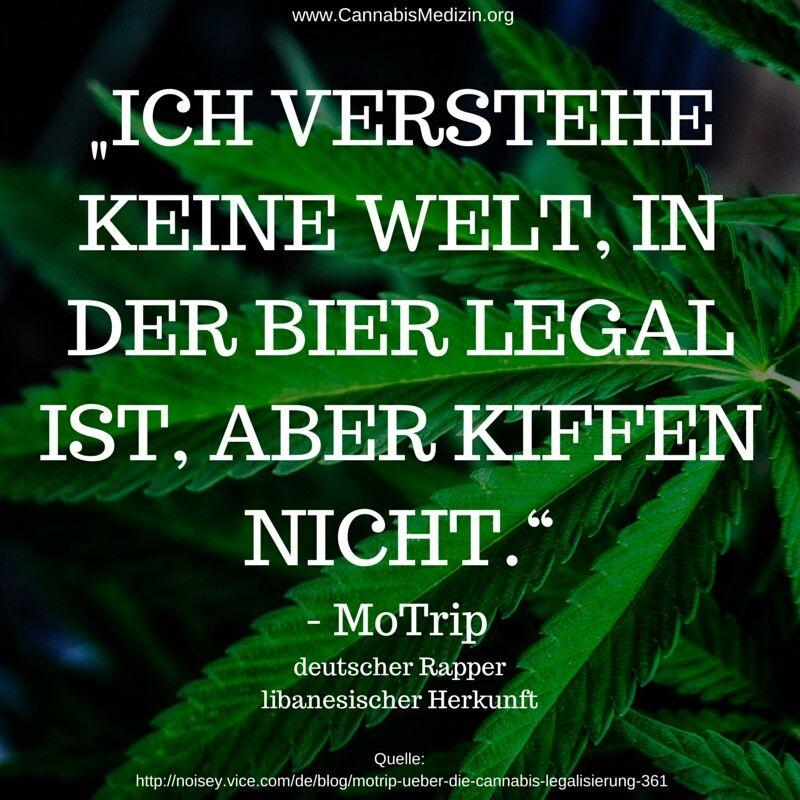 Ein Zitat von dem Rapper MoTrip, welches wir gerne mit euch teilen möchten.