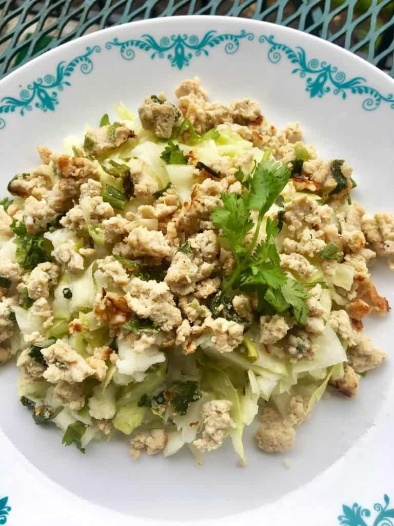 Larb Gai Recipe Healthy Low Carb Recipes Mince Recipes Larb