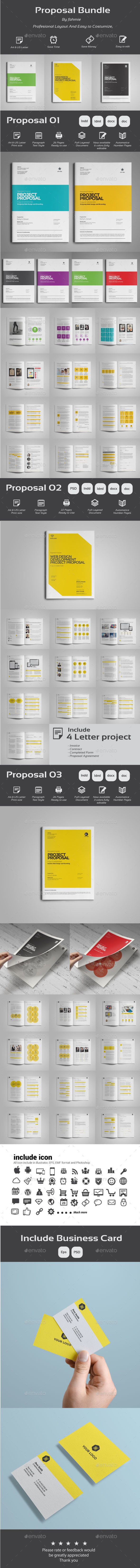 proposal template for word%0A Proposal Bundle